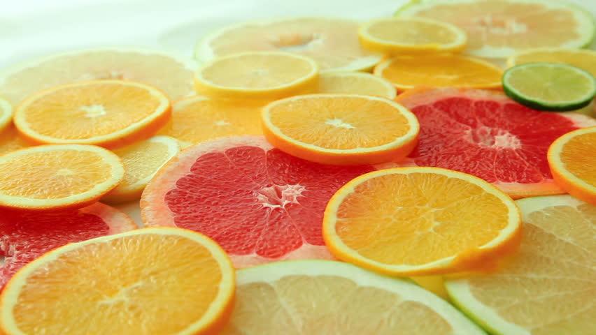 citron et pamplemousse